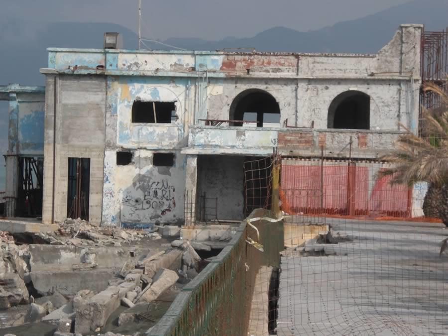 Lavori di ristrutturazione  a Salerno,Lido Miramare di Via Leucosia